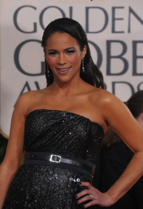 Paula Patton arrives at the 67th Annual Golden Globe Awards held at The Beverly Hilton Hotel on January 17th 2010 in California