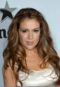Alyssa Milano attends the Heineken At Critics Choice Movie Awards After Party on January 15th 2010 1