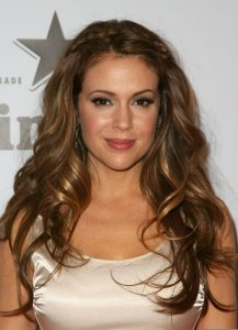 Alyssa Milano attends the Heineken At Critics Choice Movie Awards After Party on January 15th 2010 2