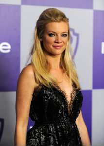 Amy Smart attends the InStyle and Warner Bros 67th Annual Golden Globes post party on January 17th 2010 held at the Oasis Courtyard at the Beverly Hilton Hotel 1
