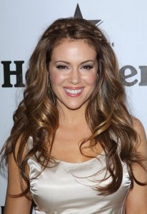 Alyssa Milano attends the Heineken At Critics Choice Movie Awards After Party on January 15th 2010 3