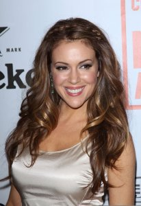 Alyssa Milano attends the Heineken At Critics Choice Movie Awards After Party on January 15th 2010 4
