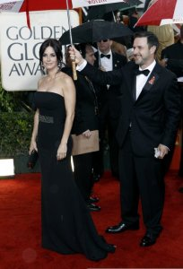 Courteney Cox and her husband David attends the 67th Annual Golden on January 17th 2010 at the Beverly Hilton Hotel 1