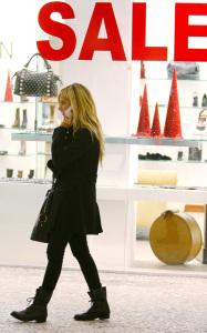 Ashley Tisdale picture while shopping at Juicy Couture and Louis Vuitton on December 10th 2009 around Beverly Hills 1