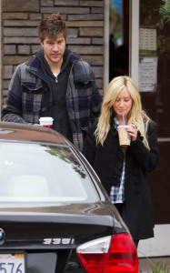Ashley Tisdale spotted out with her boyfriend Scott Speer on December 26th 2009 around their car 2