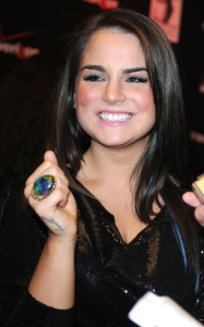 JoJo attends the Timbalands release party for his new album on December 5th 2009 at the LIV nightclub at the Fontainebleau Miami 2