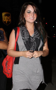 JoJo arrives for a night out on October 23rd 2009 at Hyde nightclub in Los Angeles 1