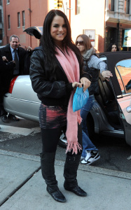 JoJo was spotted on January 20th 2010 while walking around New York City 1