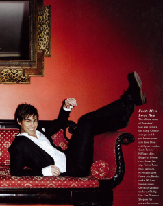 Chace Crawford photo shoot for the February 2010 issue of Glamour Magazine 6