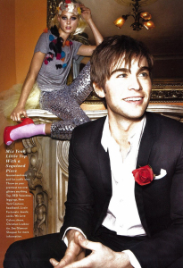 Chace Crawford photo shoot for the February 2010 issue of Glamour Magazine 7