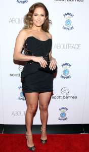 Jennifer Lopez attends a special book launch at Club Provocateur on January 20th 2010 at the Hotel Gansevoort 1