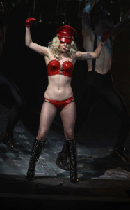 Lady GaGa photo from her performance on stage on January 20th 2010 at the Radio City Music Hall 13