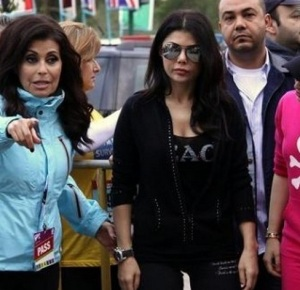 Haifa Wehbe participates in Marathon Beirut held in December 2009 in Downtown