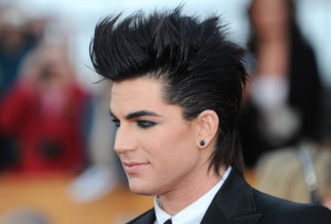 Adam Lambert arrives at the 16th Annual Screen Actors Guild Awards on January 23rd, 2010