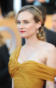 Diane Kruger attends the 16th Annual Screen Actors Guild Awards on January 23rd, 2010
