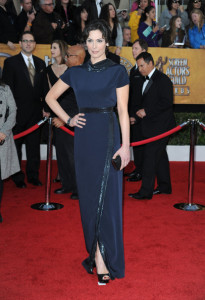 Michelle Forbes attends the 16th Annual Screen Actors Guild Awards on January 23rd, 2010
