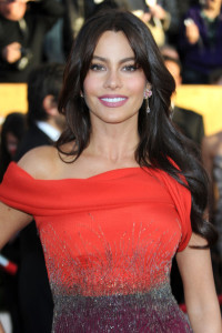 Sofia Vergara arrives at the 16th Annual Screen Actors Guild Awards on January 23rd, 2010