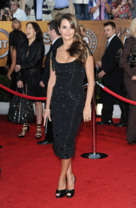 Penelope Cruz arrives at the 16th Annual Screen Actors Guild Awards on January 23rd, 2010