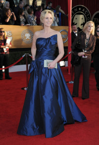 Jane Lynch attends the 16th Annual Screen Actors Guild Awards on January 23rd, 2010