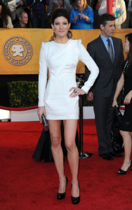 Jennifer Carpenter attends the 16th Annual Screen Actors Guild Awards on January 23rd, 2010