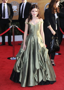 Ariel Winter attends the 16th Annual Screen Actors Guild Awards on January 23rd, 2010