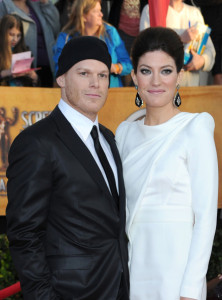 Jennifer Carpenter and Michael C Hall attend the 16th Annual Screen Actors Guild Awards on January 23rd, 2010
