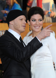 Jennifer Carpenter and Michael C Hall at the 16th Annual Screen Actors Guild Awards on January 23rd, 2010
