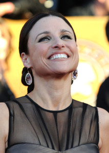 Julia Louis Dreyfus attends the 16th Annual Screen Actors Guild Awards on January 23rd, 2010