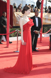 Mariana Klaveno at the 16th Annual Screen Actors Guild Awards on January 23rd, 2010
