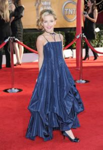 Kiernan Shipka at the 16th Annual Screen Actors Guild Awards on January 23rd, 2010