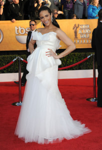 Paula Patton at the 16th Annual Screen Actors Guild Awards on January 23rd, 2010