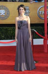 Sarah Hyland at the 16th Annual Screen Actors Guild Awards on January 23rd, 2010