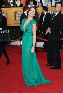 Lea Michele at the 16th Annual Screen Actors Guild Awards on January 23rd, 2010