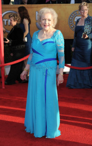 Betty White at the 16th Annual Screen Actors Guild Awards on January 23rd, 2010