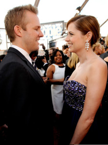 Jenna Fischer attends the 16th Annual Screen Actors Guild Awards on January 23rd, 2010