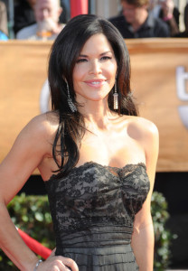 Lauren Sanchez attends the 16th Annual Screen Actors Guild Awards on January 23rd, 2010