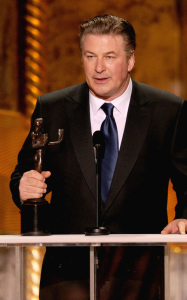 Alec Baldwin onstage during the 16th Annual Screen Actors Guild Awards held at the Shrine Auditorium on January 23rd 2010 in Los Angele