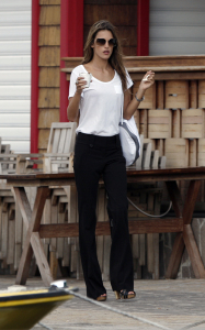 Alessandra Ambrosio picture during a photo session on January 24th 2010 on the beaches of St Barts 2