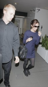 Victoria Beckham spotted arriving on January 23rd 2010 to LAX airport 4