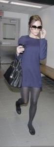 Victoria Beckham spotted arriving on January 23rd 2010 to LAX airport 3