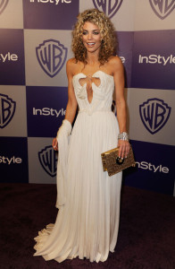 Annalynne McCord arrives at the InStyle and Warner Bros 67th Annual Golden Globes after party held at the Oasis Courtyard on January 17th 2010 at The Beverly Hilton Hotel 3