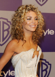 Annalynne McCord arrives at the InStyle and Warner Bros 67th Annual Golden Globes after party held at the Oasis Courtyard on January 17th 2010 at The Beverly Hilton Hotel 4