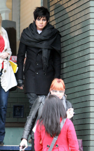 Adam Lambert spotted leaving Parlour Salon after an interview on January 26th 2010 in Toronton Canada 2