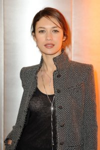 Olga Kurylenko spotted arriving at the Chanel runway show on January 26th 2010 during Paris Fashion Week 3