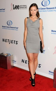 Olivia Wilde arrives at an Unforgettable Evening Benefiting EIFs Womens Cancer Research Fund held on January 27th 2010 at the Beverly Wilshire Hotel 3