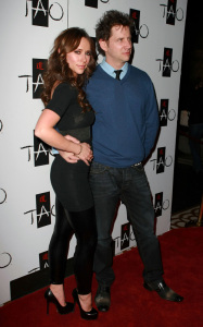 Jennifer Love Hewitt and Jamie Kennedy were spotted together on January 28th 2010 at the TAO Nightclub in Las Vegas 3