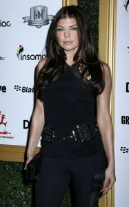 Fergie arrives at the 1st Annual Data Awards held at the Hollywood Palladium on January 28th 2010 in California 4