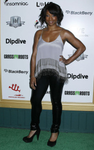 Monique Coleman arrives at the 1st Annual Data Awards held at the Hollywood Palladium on January 28th 2010 in California