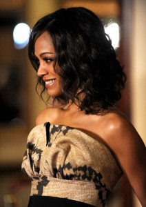 Zoe Saldana arrives at the 62nd Annual Directors Guild Of America Awards 5