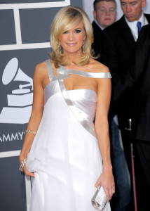 Carrie Underwood arrives at the 52nd Annual GRAMMY Awards held at Staples Center on January 31st 2010 in Los Angeles California 6